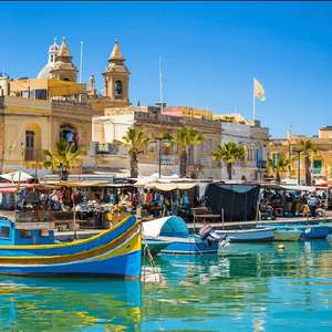 3 Night 4* Hotel stay in Malta (Including flights from London, Breakfast & Valletta Harbour cruise) £67pp (£134 total) @ Booking.com/Ryanair