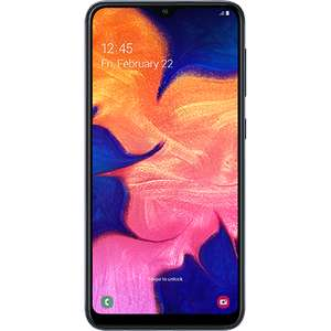 Samsung galaxy A10 32gb unlocked smartphone, 'Like new' No top up or cancellation req'd. £79 @ o2