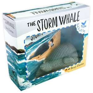 The Storm Whale by Benji Davies book and toy box set for £6.49 delivered @ Books2Door