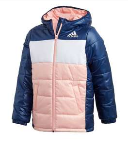 Kids Adidas Padded Jacket now £25 Sizes 3-4, 5-6 , 7-8, 9-10 Pink or Blue (Free Click & Collect or £3.99 delivery) @ Very