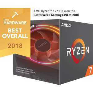 AMD Ryzen 7 Eight Core 2700X 4.35GHz Socket AM4 Processor + Wraith Prism Cooler - £148.27 Delivered @ LambdaTek