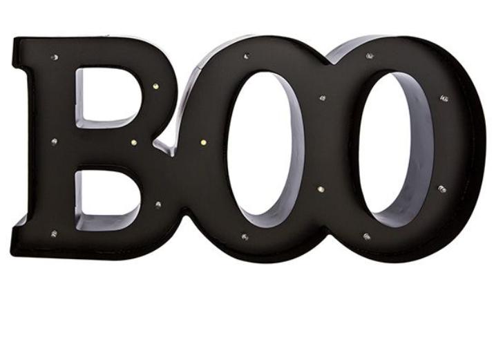 Halloween Boo Light £1.50 @ Sainsbury's Beckton