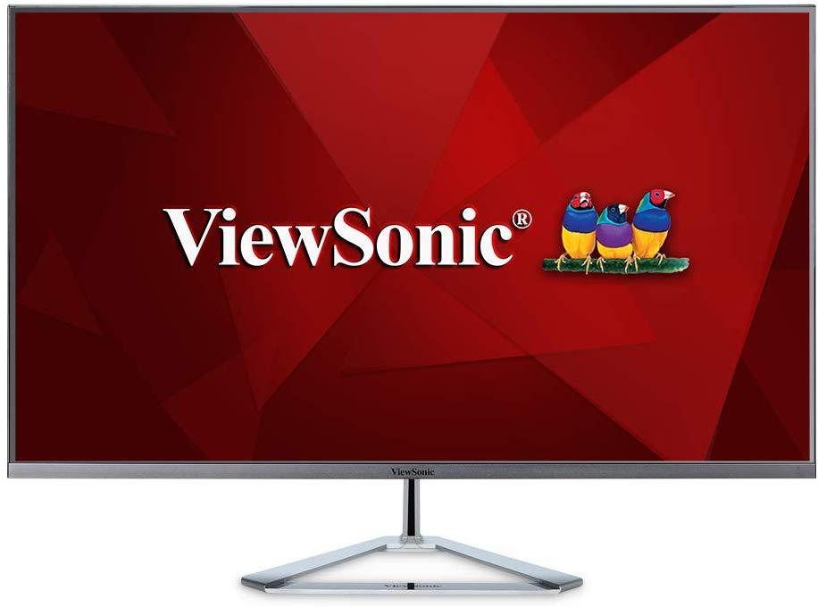 """ViewSonic VX3276-2K-mhd 32"""" IPS WQHD 2560 x 1440 Monitor (4ms, 2xHDMI, DP, Mini Displayport, Vesa, 2x 2W Speakers) - £176.39 @ Amazon"""