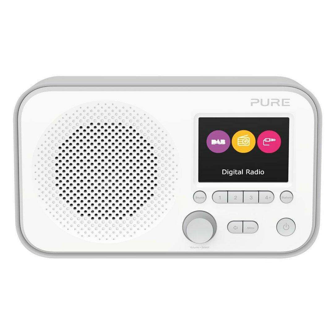 Refurbished - Pure Elan E3 Portable DAB+ FM Radio Aux-in Alarm Grey £21.99 @ Electrical-Deals / Ebay