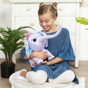 Juno Interactive Baby Elephant with Moving Trunk and Over 150 Sounds £39.97 delivered at Amazon