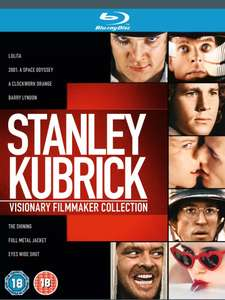 Stanley Kubrick: Visionary Filmmaker Collection (Blu-ray) Malcolm McDowell £16.45 @ Ebay TheEntertainmentStore