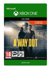 A Way Out | Xbox One - Download Code £6.24 at Amazon