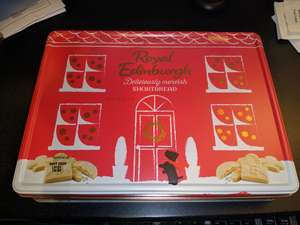 Royal Edinburgh 500g shortbread tin just 99p at Home Bargains (Bolton)