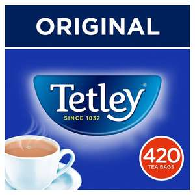 Tetley Tea Big Bags of 420 back @ Morrisons for £5