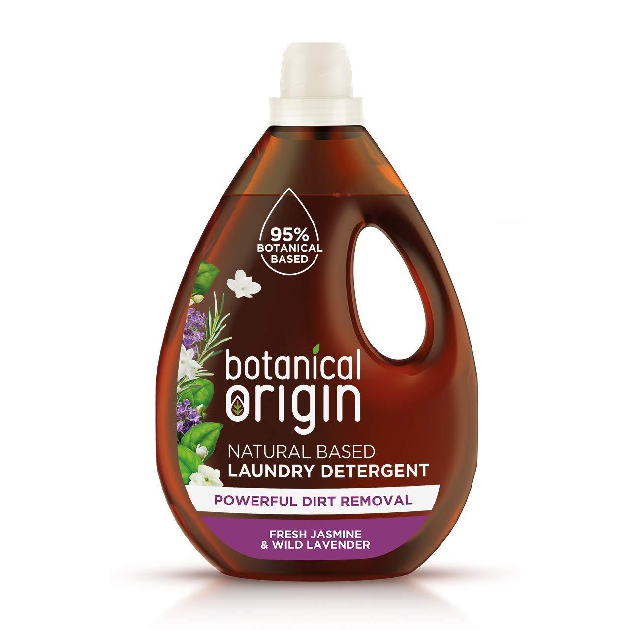 Botanical Origin Concentrated Eco Laundry Detergent, Fresh Jasmine & Lavender, 1.6 L £9.50 + £4.49 NP @ Amazon