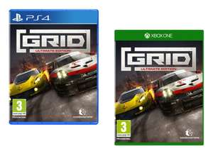 GRID Ultimate Edition [PS4/Xbox One] for £24.95 @ The Game Collection