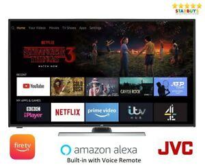 "JVC LT-40CF890 Fire TV 40"" Smart 4K HDR UHD LED TV Built-in Amazon Alexa - Opened – never used £207.99 @ starbuys*electronics*uk / eBay"