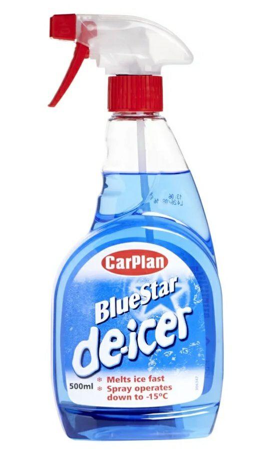 CarPlan Bluestar 500ml Trigger De-Icer 75p @ Wilko (+£2.00 C & C )