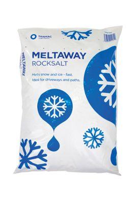Tarmac Meltaway Grit Rock Salt Large Bag (~25 kg) £3 @ Wickes (Free Collection)