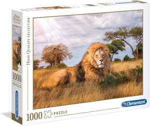 Clementoni 39479 39479-High Quality Collection Puzzle-The King-1000 Pieces, Multi-Coloured £3.03 + £4.49 NP @ Amazon