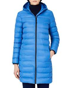 MERAKI Women's Longline Puffer Jacket with Hood, Blue, **Size Small/10 Only** £11.60 In Stock Feb 25th @ Amazon (+£4.49 Non-Prime)