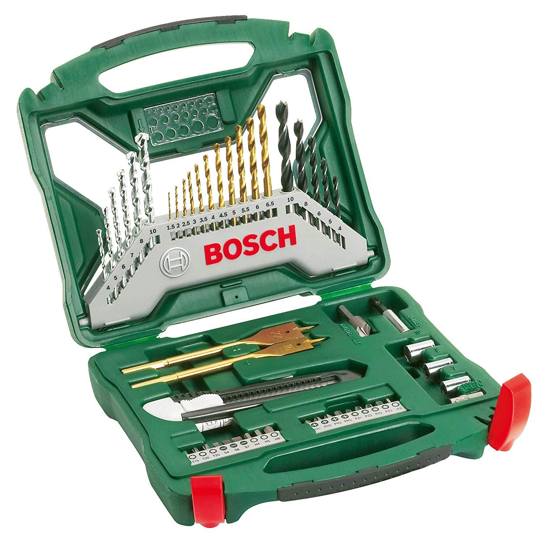Bosch 2607019327 X-Line Accessory Set, 50 Pieces, £14.29 at Amazon (+£4.49 non Prime)