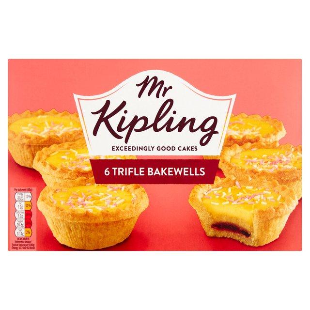 Mr Kipling Trifle Bakewells 6 per pack £1 @ Morrisons
