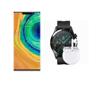 Huawei Mate 30 Pro 256GB + Free FreeBuds 3 & Watch GT2 £899.99 @ Carphone Warehouse