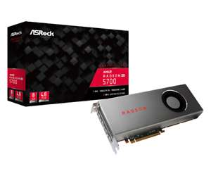 ASRock Radeon RX 5700 8GB Graphics Card + Resident Evil 3, Monster Hunter World Iceborne & 3-month Xbox Game Pass for PC £257.64 @ CCL eBay