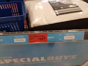 Duck feather and down bedding reduced £4.99 @ Aldi Cardiff