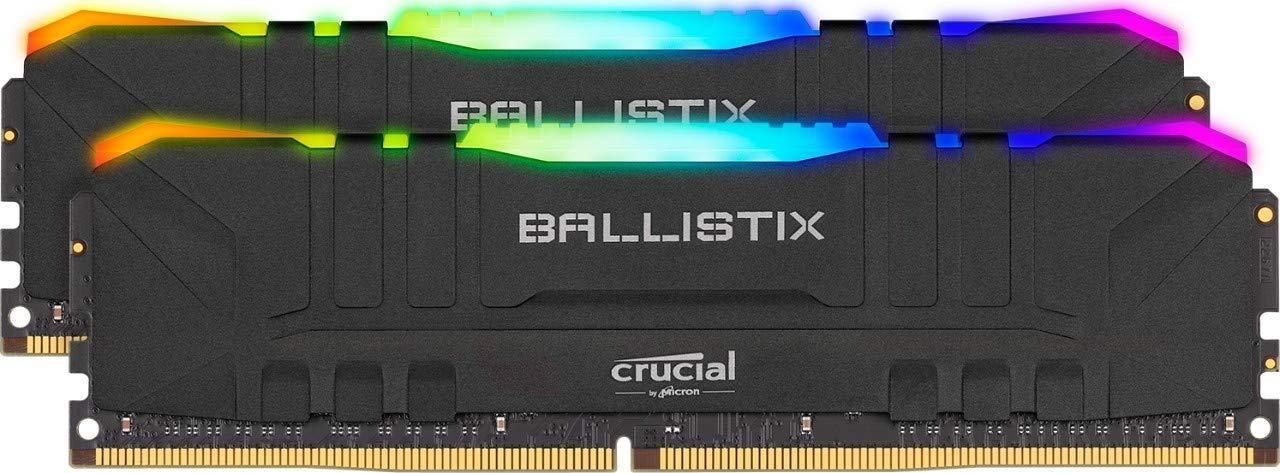 Crucial Ballistix RGB RAM 16GB (8GB x2) 3600MHz CL16 £89.99 @ Amazon