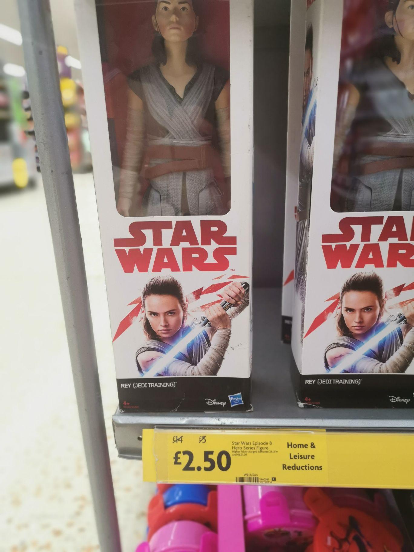 Star Wars Rey doll originally £14 at Morrisons Rotherham