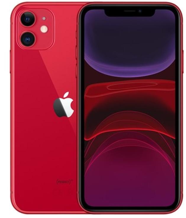 iPhone 11 Red 64gb Vodafone Grade A used 2y warranty 480 @ CEX