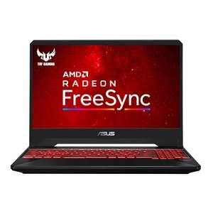 """ASUS TUF FX505DY 15.6"""" FHD IPS (AMD Ryzen 5 3550H, RX560X 4GB, 256GB PCI-e SSD, 8GB RAM, Without Windows 10)Gaming Laptop £539.99 at Amazon"""