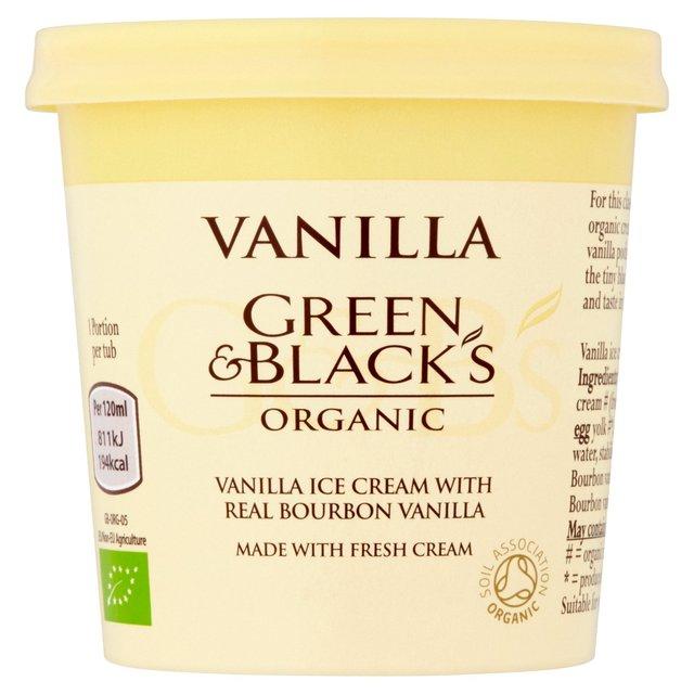 Green & Black's Organic Ice Cream Vanilla 100ml 29p @ Heron Foods Kingston Upon Hull