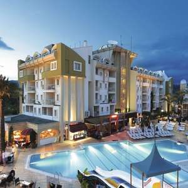 14 nights, 4* All Inc Grand Cettia Hotel Marmaris, Turkey £379.56pp (£759.12) from London incl Luggage & transfers, no visa costs @ Tui
