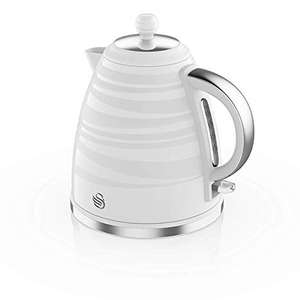 Swan SK31050WN 1.7L Jug Kettle White or Swan ST31050GRN 2-Slice Toaster - Grey or White - Free Click & Collect £20 each @ Robert Dyas