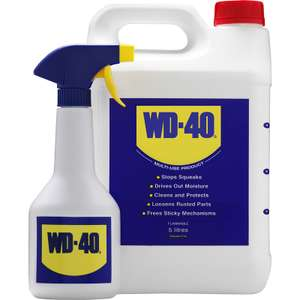 WD-40 & Spray Applicator 5L - £19.98 @ Toolstation Free Delivery or Click & Collect from store.