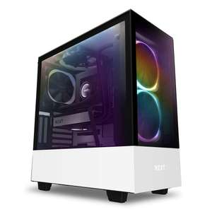 NZXT White H510 Elite Mid Tower Windowed PC Gaming Case - £119.99 @ Amazon