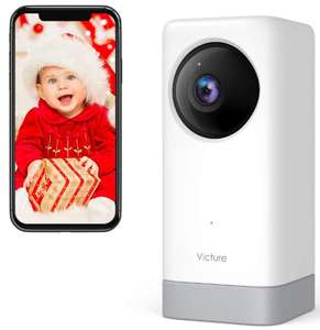 Victure 1080P Baby Monitor Pet Camera with Motion/Sound Detection, Audio Wifi Camera £17.09 Prime / £21.58 Non Prime Sold by TONG-EU & FBA