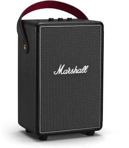 Marshall Tufton Portable Speaker, 80W, Bluetooth 5.0, IPX2, 20 Hrs Play Time, Quick Charge - Black £197.48 delivered @ Amazon France