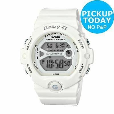 Casio Baby-G Ladies' Shock Resistant White Resin Case Digital Watch - White £34.99 @ Argos / Ebay