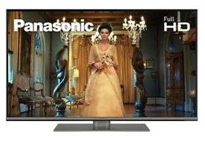 Panasonic TX-43FS352B 43 Inch SMART Full HD LED TV Built In Freeview Play - Manufacturer refurbished