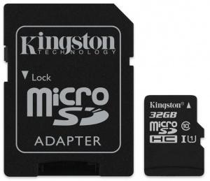 Kingston Canvas Select 32GB MicroSDHC Class 10 UHSI 80MB s - £3.79 @ PicStop