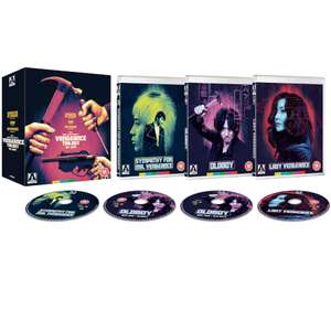 The Vengeance Trilogy Blu-Ray (Arrow Video) £22.68 at Zavvi (With Code)