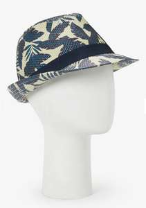 John Lewis & Partners Printed Trilby Hat, Multi (size S/M) - £6.60 @ John Lewis & Partners (+£2 Click & Collect)