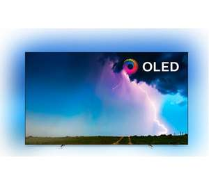 """Philips 65OLED754 65"""" Smart Ambilight 4K Ultra HD OLED TV with HDR10+, Dolby Vision, Dolby Atmos and P5 Processor £1484.10 @ ao.com"""