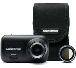 NEXTBASE 222 Full HD Dash Cam, Case & Polarising Filter Bundle - Black £54.97 @ Currys / Ebay