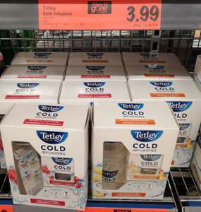 Tetley cold infusions starter kit 27g £3.99 @ LIDL