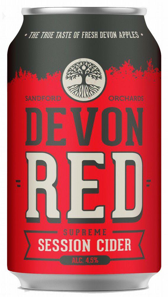 2 x Sanford Orchards 4.5% Devon Red Cider 330ml cans - £1 @ Fulton Foods