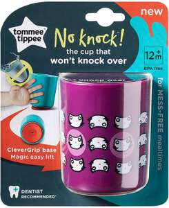 Tommee Tippee No Knock Cup, Small, Purple £2.09 @ Amazon (+£4.49 Non-prime)