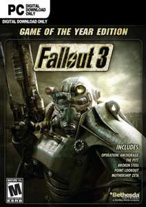Fallout 3 Game of the Year Edition (Steam PC) £2.04 @ Gamivo / Playtime