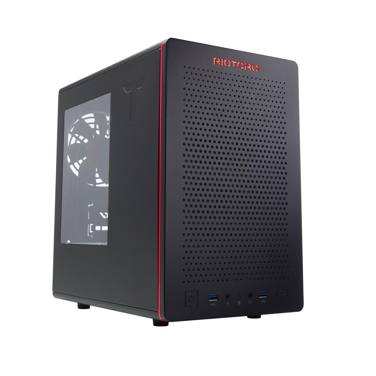 RIOTORO CR280 Mini ITX Desktop Case + 3 Artic Fans Total price £51.54 delv. from CCLOnline.