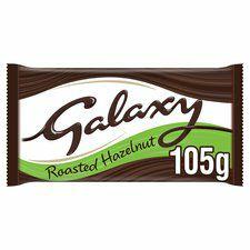 Galaxy Darker Milk Chocolate With Hazelnut 105g - 69p @ Poundstretcher