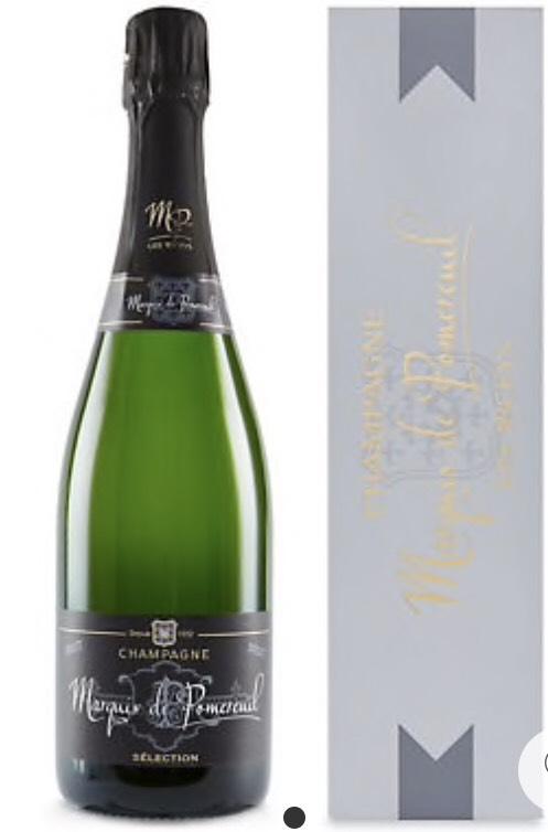 Marquis de Pomereuil Champagne Gift - Single Bottle - £17.33 @ Marks & Spencer